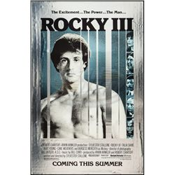 Rocky III - Mylar Teaser One-Sheet