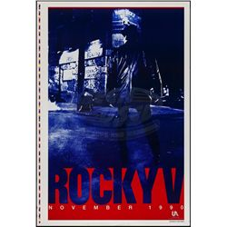 Rocky V - Teaser One-Sheet Printer's Proof