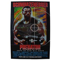 Predator - Autographed Advance One-Sheet