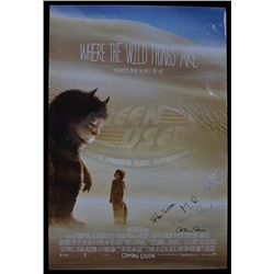 Where the Wild Things Are - Cast Signed Movie Poster