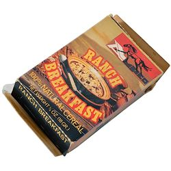 """Electric Horseman, The - Prop """"Ranch Breakfast"""" Cereal Box"""