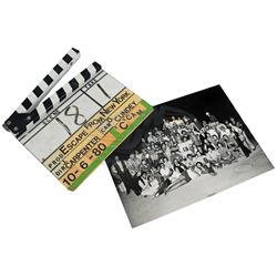Escape From New York - Production Used Clapper Board