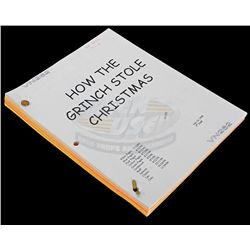How the Grinch Stole Christmas - Ve Neill's Production Script
