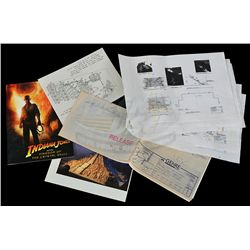 Indiana Jones & Kingdom of the Crystal Skull - Temple Blueprints & Reference Material