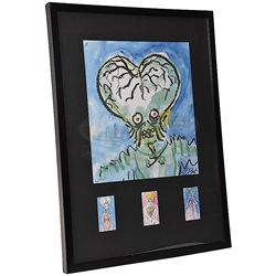 Mars Attacks! - Tim Burton Signed Lithograph