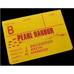 Pearl Harbor - Production Used Clapper Board