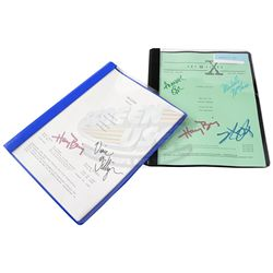X-Files, The (television) - Autographed Scripts