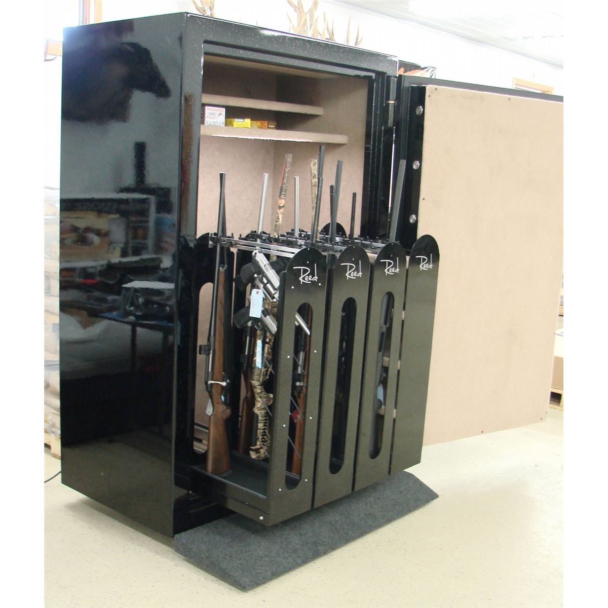 Reed custom 4 drawer gun safe for Custom home safes