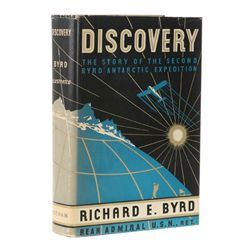 BYRD, Richard E. - Discovery: The Story of the Second Byrd Antarctic Expedition
