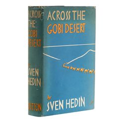 HEDIN, Sven - Across the Gobi Desert