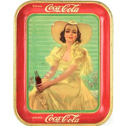 Original 1938 Coca Cola serving tray