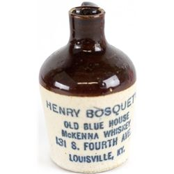 "Miniature antique adv. jug ""Henry Bosquet's"