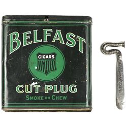 Collection of 2 includes Belfast Cut Plug tobacco