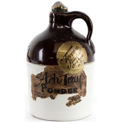 Miniature souvenir whiskey crock jug