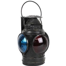 Terrific early railroad switch lantern