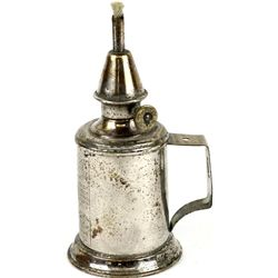 Nickel plated 19th C. gas torch or wall mount