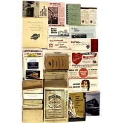 Collection of misc. railroad ephemera
