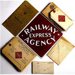 Collection of Railroad items from Belle Fourche SD