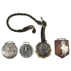 4 Antique watch fobs includes