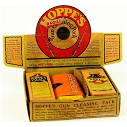 Early Hoppes Gun Store counter top cleaning pack