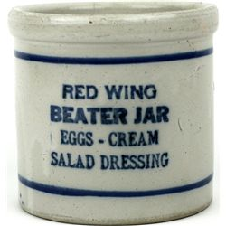 Antique Redwing beater Jars double stamped
