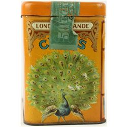 Antique lithograph Class Cigar tin