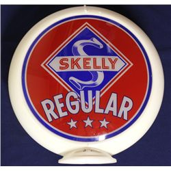 Skelly gasoline pump globe NOS lenses