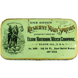 Antique Elgin National Watch Company  tin