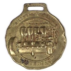 Early advertising watch fob  for Rutenber