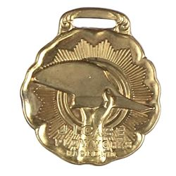 Advertising watch Fob for JI Case Plow Works