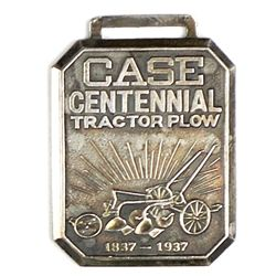 Advertising watch fob for Case Centennial