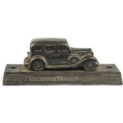 Original 1920-1930 paper weight Chevrolet