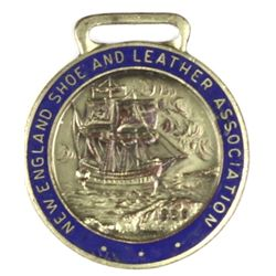 Advertising watch fob for New England Shoe &