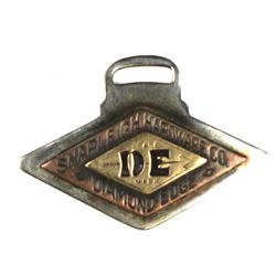 Antique advertising watch fob for Shapleigh