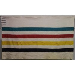 Vintage 4 point camp blanket