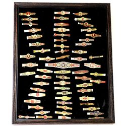 Collection of vintage and antique cigar bands