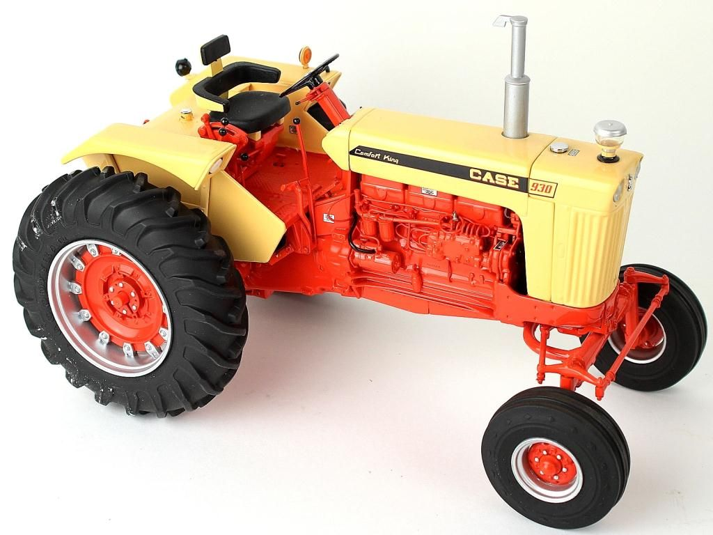 Case Comfort King : Case comfort king precision farm toy tractor