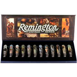 Cased collection of Remington Vintage Series