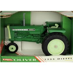 1/16 scale Oliver 1555 toy farm tractor
