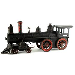 Antique cast iron train engine by Wilkins