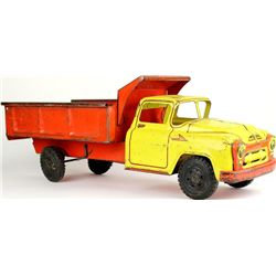 C. 1950's Lumar press tin toy truck