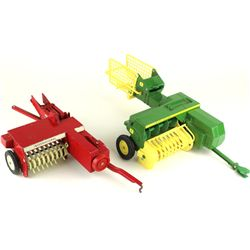 Collection of 2 includes 1/16 scale John Deer