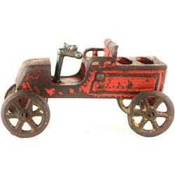 Anitique cast iron childs toy car