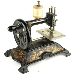 Fine antique German childs sewing machine