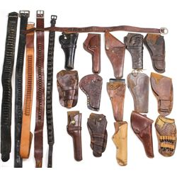 Collection of 13 misc. holster