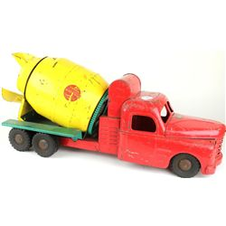 Vintage Structo press tin cement truck