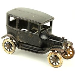 Original antique Arcade cast iron Ford Sedan