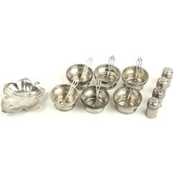Collection of 11 pieces of sterling silver