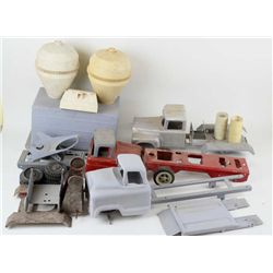 Collection of misc. toy trucks for restoration.