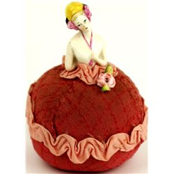 Victorian period pin cushion doll
